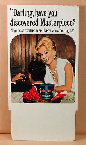 An eva gabor tobacco ad